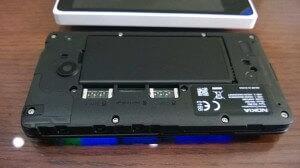 Nokia X задняя панель