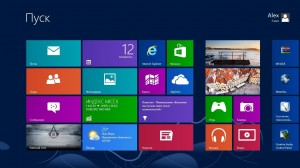 экран пуск windows 8 metro