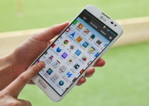 LG Optimus G Pro дисплей